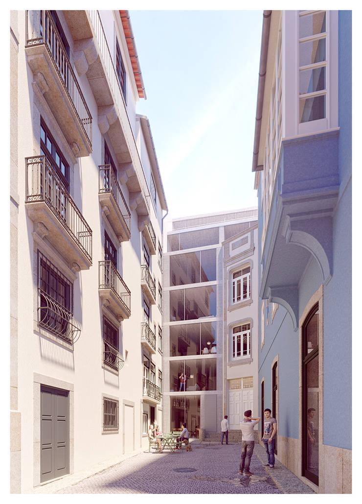 1610H mah: Casas  por Jj Soares arquiteto