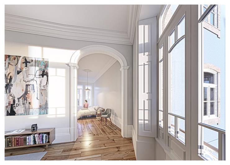 1610H mah: Quartos  por Jj Soares arquiteto