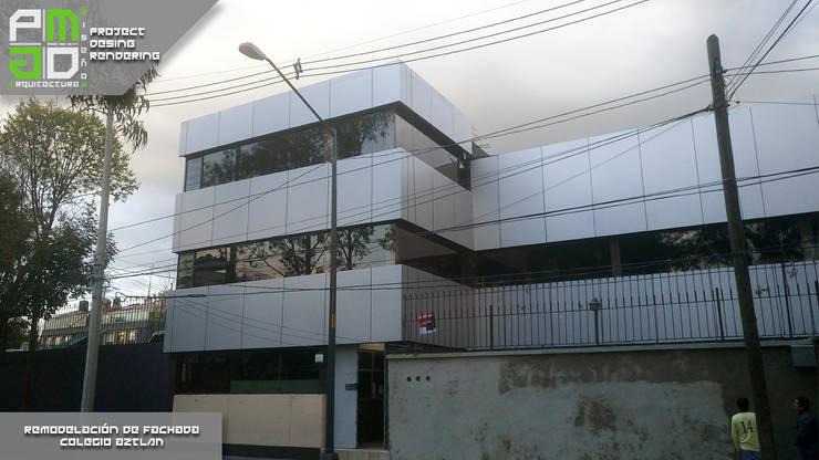 Despues de la remodelación.: Casas de estilo  por PM ARQUITECTURA Y DISEÑO, S.A. DE C.V.