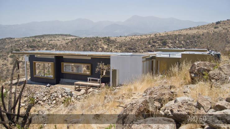 Casas de estilo  por Arq6.0