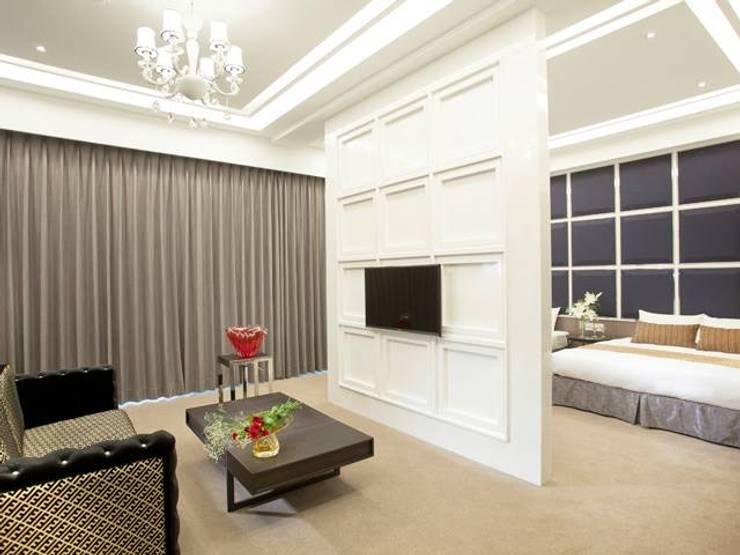 仁義湖岸大酒店:  飯店 by 延伸建築 室內設計 EXTENSION DESIGN STUDIO
