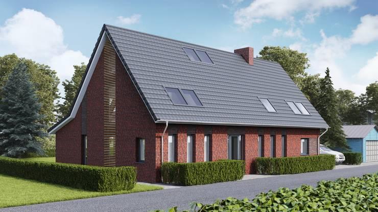 Schuurwoning:  Huizen door Brand BBA I BBA Architecten