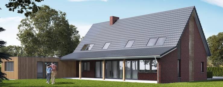 Schuurwoning Bleskensgraaf:  Huizen door Brand BBA I BBA Architecten