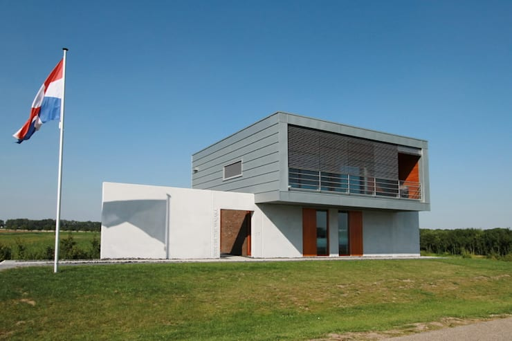 by Brand I BBA Architecten Сучасний