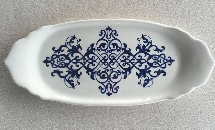 Studioartdeniz – Çini dantel işi tabak :  tarz , Klasik Seramik