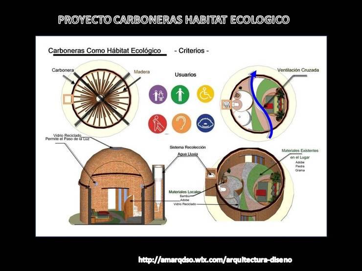 Carboneras como Habitat Ecologico:  de estilo  por A.M. ARQUITECTURA +DISEÑO