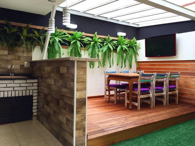 Terrazas  de estilo  por Ariândina Lima Arquitetura
