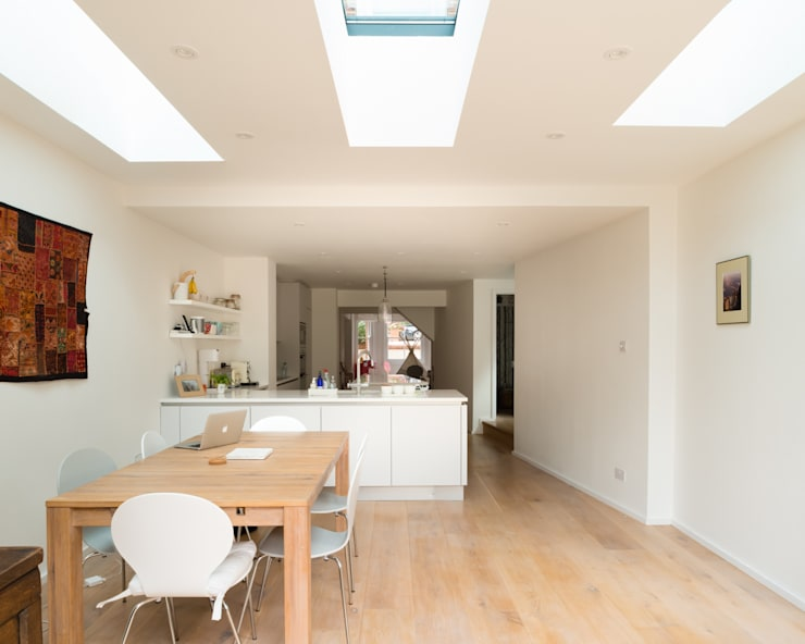 Oxford, 13107ML :  Dining room by William Green Architects