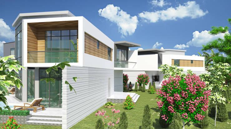 Casas de estilo moderno de SEKİZMİLİM Mimarlık Moderno