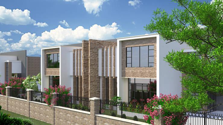 SEKİZMİLİM Mimarlık – VİCİNİA HOMES:  tarz Evler, Modern