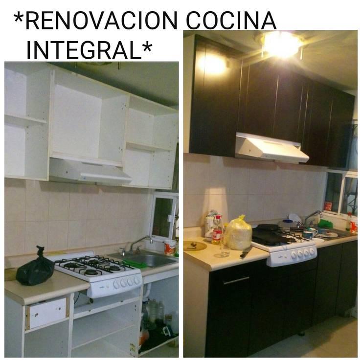 RENOVACION Y CREACION: Cocina de estilo  por SERVICIOS CALO