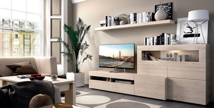 Living room by Intense mobiliário e interiores;