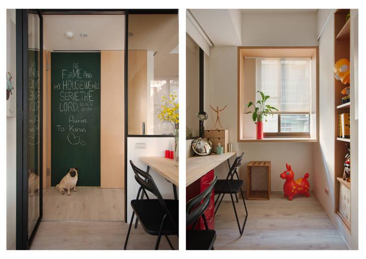 Skandinavische Arbeitszimmer von 一葉藍朵設計家飾所 A Lentil Design Skandinavisch