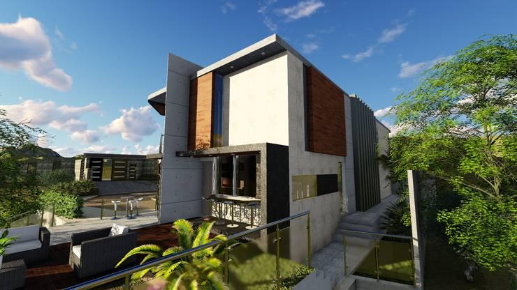 Quinta La Omareda. Urb El Hatillo Caracas 08:  de estilo  por Arquitectura Creativa