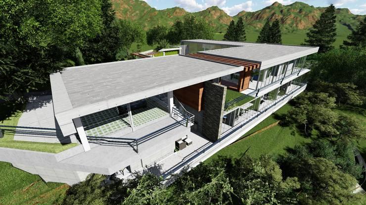 Casa Caicaguana 907:  de estilo  por Arquitectura Creativa