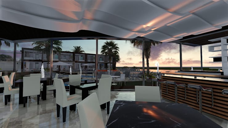 Posada El Muelle:  de estilo  por Arquitectura Creativa