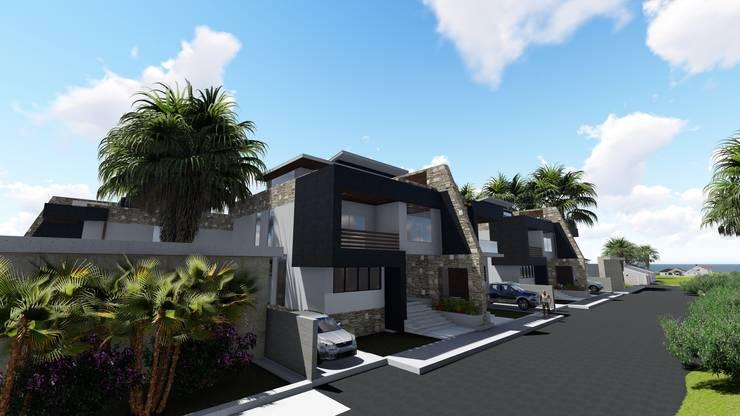 Posada Villas de Chichiriviche:  de estilo  por Arquitectura Creativa