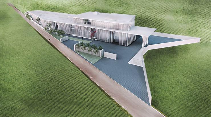 沐光森林 The green hostel:   by 竹村空間 Zhucun Design