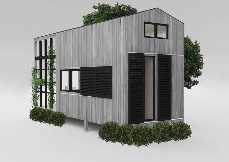 PRATIKIZ MIMARLIK/ ARCHITECTURE – Ağaç Ev:  tarz Evler, Kırsal/Country
