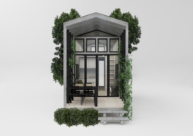 PRATIKIZ MIMARLIK/ ARCHITECTURE – Ağaç Ev:  tarz Evler, Modern