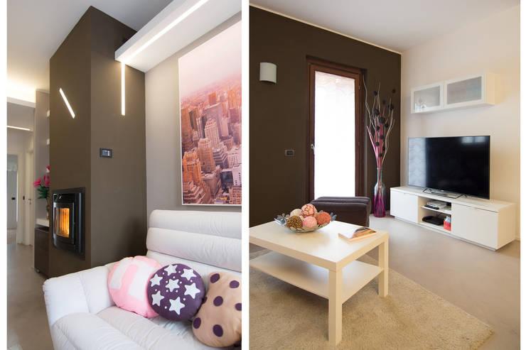 Salon moderne par Rachele Biancalani Studio Moderne