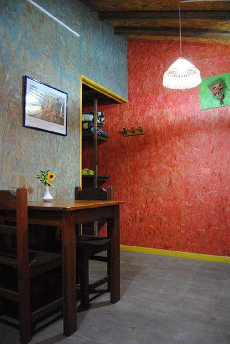 Dining room by Carpintería y Decoración La Cucha, Rustic