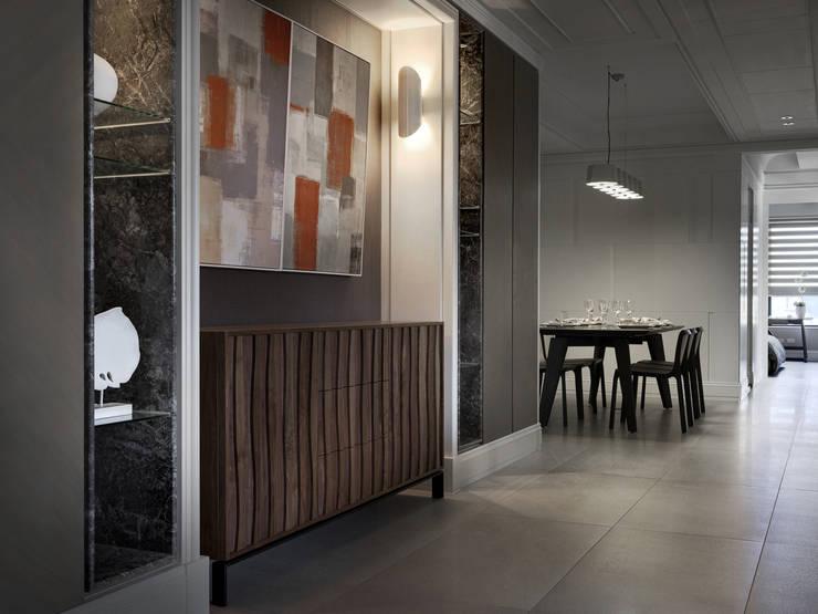 Soggiorno in stile  di 大荷室內裝修設計工程有限公司, Classico