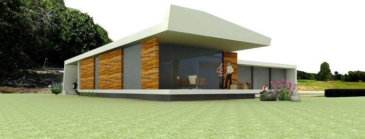 Moradia Unifamiliar: Casas  por josé abílio arquitecto's