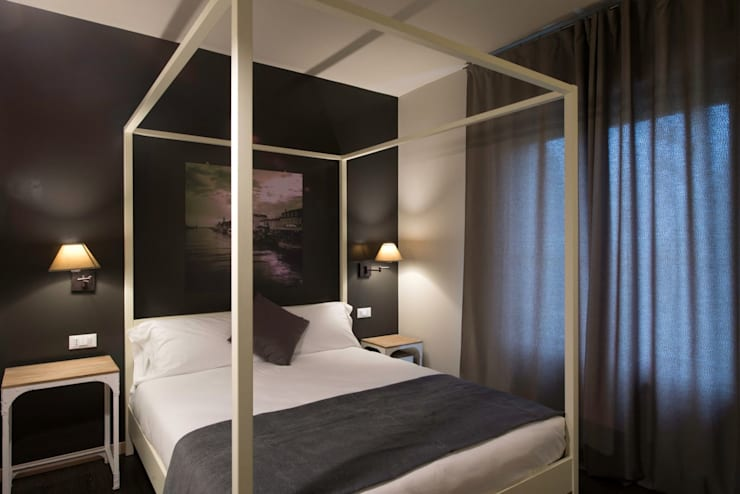 غرفة نوم تنفيذ Studio Maggiore Architettura