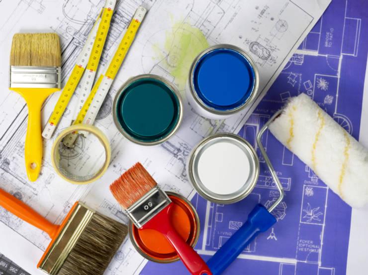 Evinin Ustası – Boya Badana Hizmetinin Faydaları:  tarz Ofisler ve Mağazalar, Modern