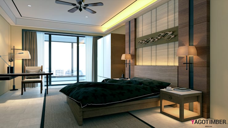 Bedroom by Yagotimber.com,