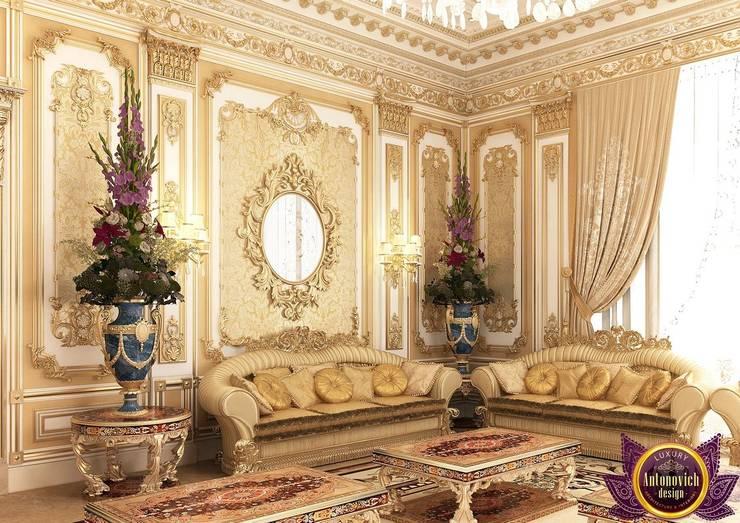 Best ideas living room of Katrina Antonovich:  Living room by Luxury Antonovich Design