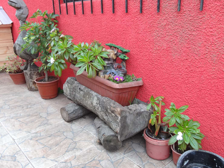 Mobiliarios Reciclados: Jardines de estilo asiático por Feng Shui y Arquitectura