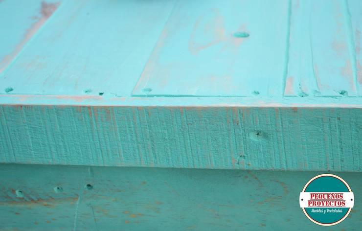 BARRA:  de estilo  por Pequeños Proyectos,Rústico Madera Acabado en madera