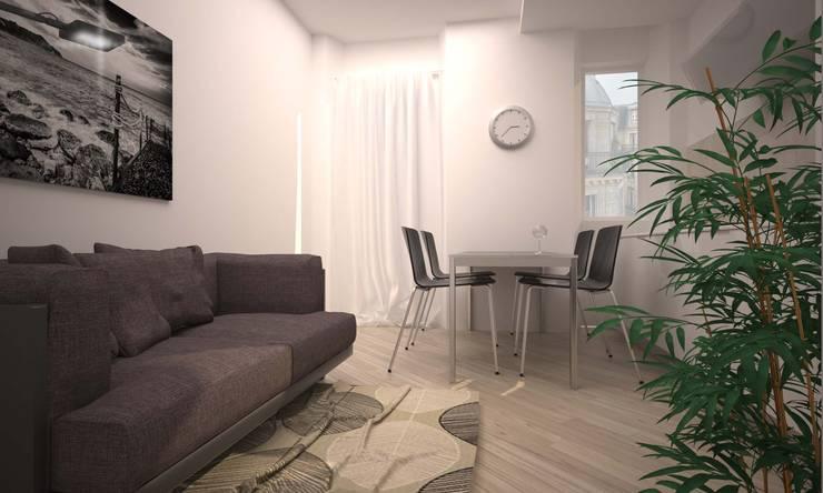 VIA CEVA: Soggiorno in stile  di LAB16 architettura&design