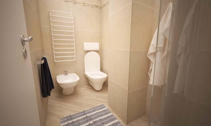 VIA CEVA: Bagno in stile  di LAB16 architettura&design