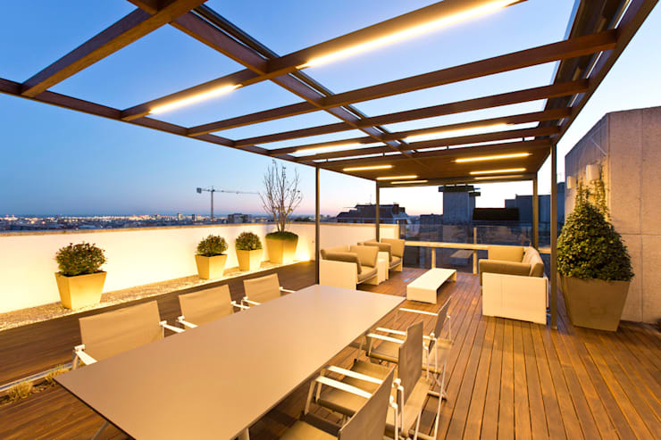 Patios & Decks by Garden Center Conillas S.L, Modern Wood Wood effect