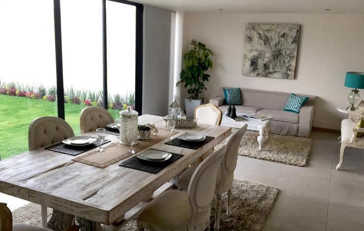 Dining room by ESTUDIO FD