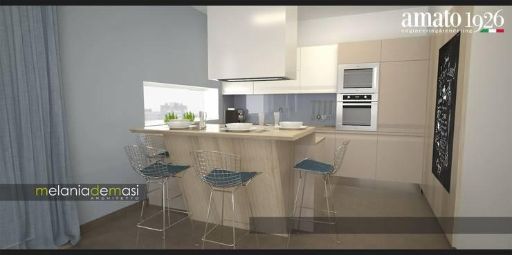 Cozinhas  por melania de masi architetto,