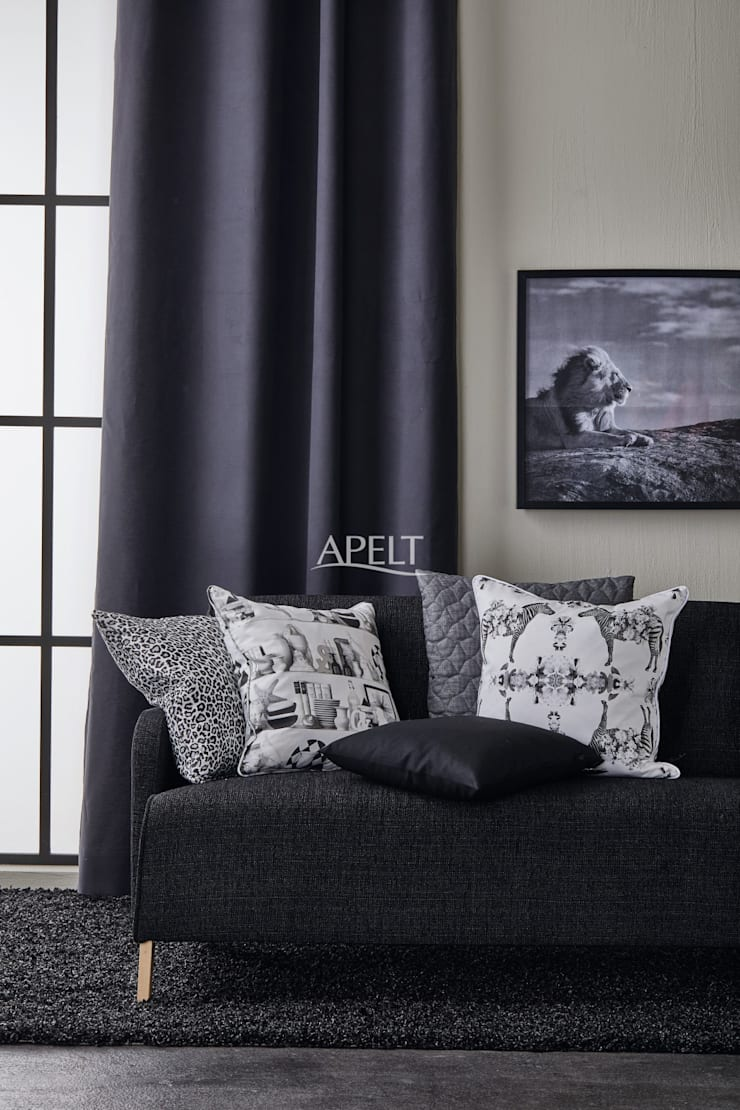 Art. 3944, LEO, VARIETÉ, VERO, ZEBRA Moderne Wohnzimmer von Alfred Apelt GmbH Modern