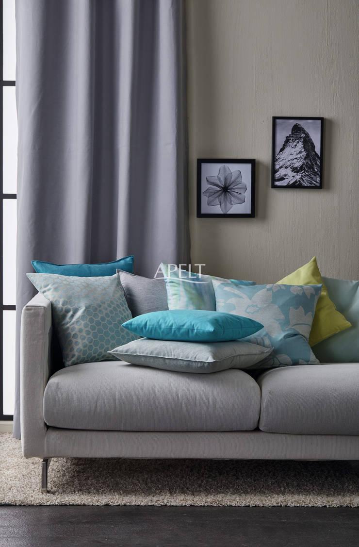 Art. 3944, MORRIS, MORTON, AQUARELL, MARLENE Moderne Wohnzimmer von Alfred Apelt GmbH Modern