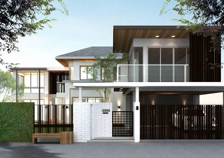 ตกแต่งบ้าน หมู่บ้านอารียาบุษบา ลาดพร้าว 130.:   by As43 Design co. ltd