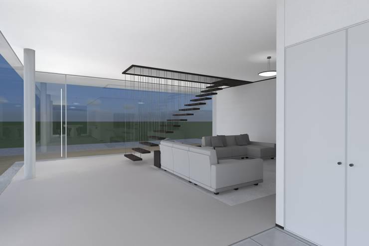 Corridor & hallway by PLURALLINES - Ideias, Projectos e Gestão Lda