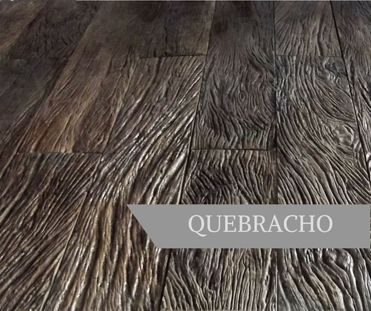 QUEBRACHO: Paredes y pisos de estilo  por AG Outdoor Design