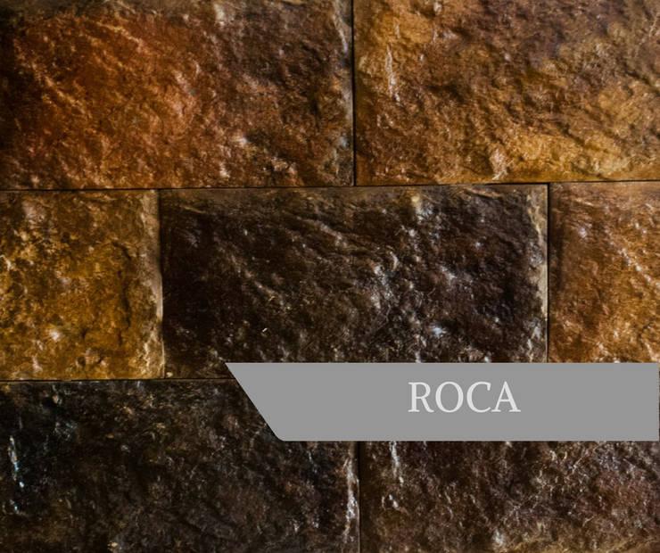 ROCA: Paredes y pisos de estilo  por AG Outdoor Design