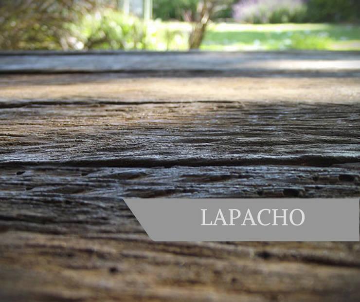 LAPACHO: Paredes y pisos de estilo  por AG Outdoor Design