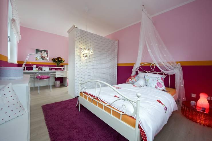 Детские комнаты в . Автор – Heinz von Heiden GmbH Massivhäuser