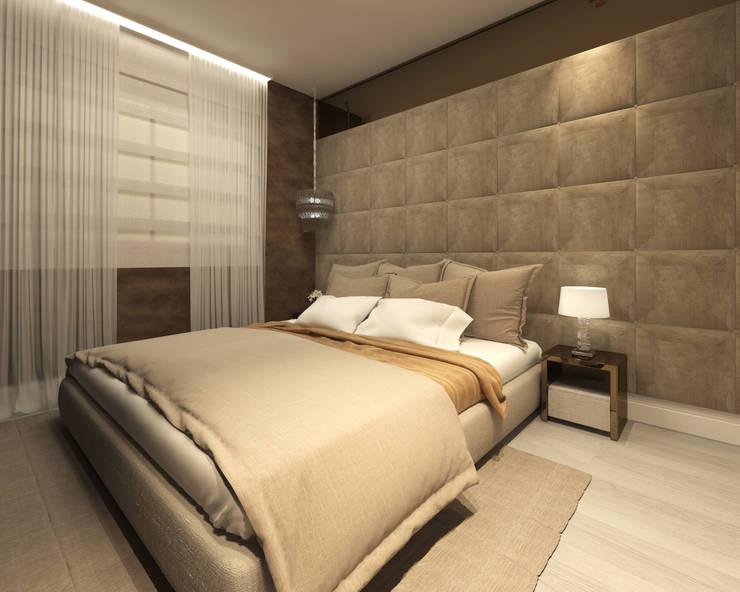 Habitaciones de estilo  por Marina Ortiz - mo arquitetura
