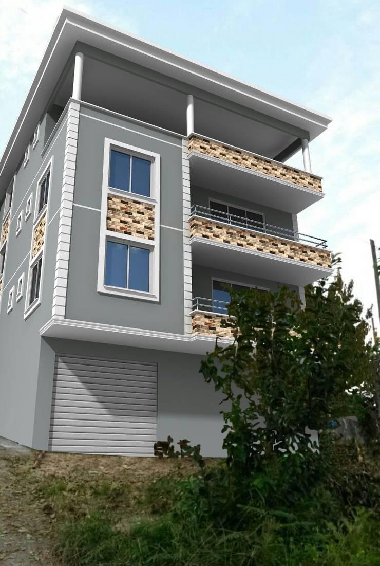 Aydın Yapı Dekorasyon - İç Mimarlık – Yaptığımız Dış Cepheler:  tarz Evler, Klasik
