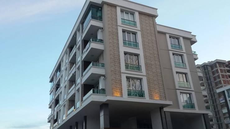 Aydın Yapı Dekorasyon - İç Mimarlık – Yaptığımız Dış Cepheler:  tarz Evler, Modern